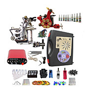 Complete Tattoo Imperial II 2 Machines With Mini Power Supply  Liner & Shader Inks