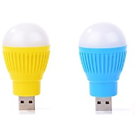 2pcs Mini USB portátil conduziu a lâmpada de luz computador lâmpada dispositivo usb periférica cor clara ramdon