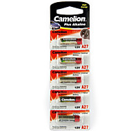 Camelion A27-BP5 Alkaline Battery 12V 5 Pack