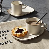 minimalisme Glas og Krus, 180 ml Dekorasjon Keramikk Juice Melk Kaffekrus