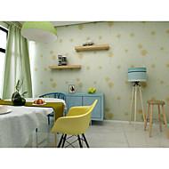 פרחוני עצים/ עלים טפט עבור בית Country וול כיסוי , PVC/Vinyl חוֹמֶר דבק נדרש טפט , Wallcovering חדר