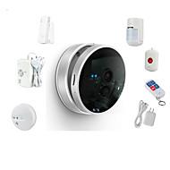 Snov 720P Wireless Nightvision IP Camera Home & Business Cube IP Camera Alarm, Security IP Camera Alarm, CMS & APP
