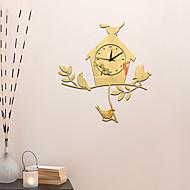 Модерн Повседневный Офисный Праздник Музыка Семья Настенные часы,Новинки Акрил 43*40 Применение В помещении Часы