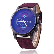 Men's Sport Watch Fashion Watch Quartz Fabric Band Cool Casual Black Blue Brown