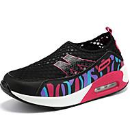Lenkkitossut-TasapohjaPU-Musta Violetti Harmaa Ruusun vaaleanpunainen-Ulkoilu Rento Urheilu-Crib Shoes