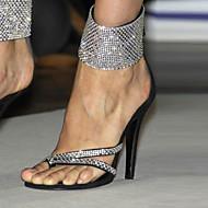 סנדלים-פליז-נעלי מועדון-שחור-יומיומי מסיבה וערב שמלה-עקב סטילטו