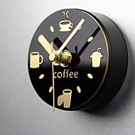 3D Bat Modern/Contemporary Houses Wall ClockNovelty Acrylic Metal Wood 30 Indoor Clock
