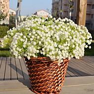 1 ramură Plastic Respirație Copil Față de masă flori Flori artificiale