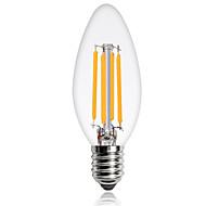 E14 LED filament žarulje C35 4 COB 360 lm Toplo bijelo Hladno bijelo Ukrasno AC 220-240 V 1 kom.