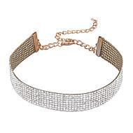 Modische Halsketten Halsketten Schmuck Hochzeit Party Besondere Anlässe Geburtstag Verlobung Alltag Euramerican Stoff 1 Stück Geschenk