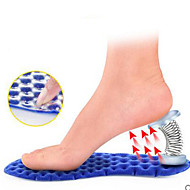 מדרסים שרוולי רגל Plantar נעלי כדורסל ג'ל כחול
