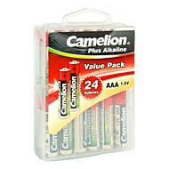 Camelion LR03-pbh24 AAA alkalické baterie 1.5V 24 pack