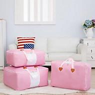 Коробки для хранения Мешки для хранения Единицы хранения Текстиль сОсобенность является Открытые , Для Бижутерия Ткань Стеганныеодеяла