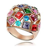 Prstenje Moda Vjenčanje / Party Jewelry Legura / Zircon Žene Prstenje sa stavom 1pc,6 / 7 / 8 / 9 / 10 Srebrna
