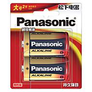 Panasonic lr20bch / 2b d alkalická baterie 1,5 V 2 ks