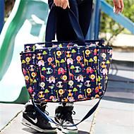 여성제품 옥스퍼드 섬유 야외 여행가방