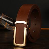 Men's Alloy Wide Belt,Casual Velcro