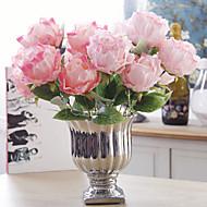 1 ramură Flori Uscate Trandafiri Față de masă flori Flori artificiale