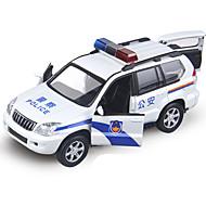 パトカー プルバック式乗り物おもちゃ 1時32分 メタル