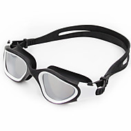Óculos de Natação Anti-Nevoeiro Anti-Roupa Á Prova-de-Água Resistente a Arranhões Anti-Estilhaços Correira Anti-Escorregar CromadoGel