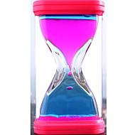 Leketøy for Boys Discovery Toys Timeglass Firkantet Plast Rød / Gul