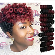Materiale de prelucrare Twist Croșetat bouncy Curl KanekalonNegru / Strawberry Blonde Black / Medium Auburn Negru / Burgundia Negru / Gri
