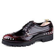 גברים של oxfords באביב קיץ גלדיאטור פורמלי נעליים נוחות פרב נעליים עור חתונה בחוץ במשרד&מסיבת קריירה&ערב מזדמנים