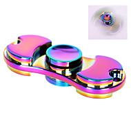farverige rastløs spinner legetøj lavet af titanium legering minutter spinning time high-speed EDC fokus legetøj for at dræbe tid --- 1