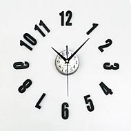מודרני / עכשווי מסורתי קאנטרי אגבי רטרו משרד / עסקים דמויות חופשה מעורר השראה משפחה חברים סרט מצויר שעון קיר,עגול מצחיק אקרילי מתכת 30-60