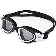 Óculos de Natação Anti-Nevoeiro Anti-Roupa Á Prova-de-Água Proteção UV Anti-Estilhaços Para miopia Gel Silica PCAmarelo Branco Verde