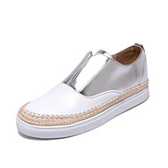 Women's Sneakers Summer Fall Club Shoes PU Synthetic Office & Career Party & Evening Dress Flat Heel