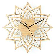 Moderno/Contemporâneo Casual Animais Náutico Relógio de parede,Inovador Metal Madeira 30 Interior/Exterior Interior Relógio