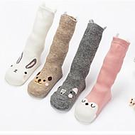 ילדים גרביים עובדים כותנה ערימת גרביים צבע מוצק הצבע הצבע גרביים ילדים גרביים צינור סחר החוץ