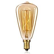 E14 25w st48 žluté světlo žárovky Edison malý šroubový uzávěr retro lustr dekorativní žárovky