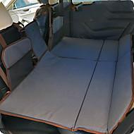 Grå Car Madrass Dubbel(136*90*3cm)Bomull Bärbar Bekväm Justerbara säkerhets fender