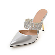 Women's Slippers & Flip-Flops Summer Fall Slingback PU Dress Casual Stiletto Heel