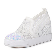 Women's Sneakers Spring Summer Fall Club Shoes Synthetic Tulle Office & Career Party & Evening Dress Platform Sequin