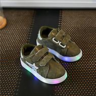 Sneakers-Syntetisk-Light Up Sko-Drenge-Grå Grøn Lys pink-Fritid Sport Fest/aften-Flad hæl