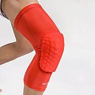 Joelheira para Fitness Basquete Futebol Americano Corrida Masculino Respirável Vestir fácil Elástico Protecção Anti-Derrapagem Esporte