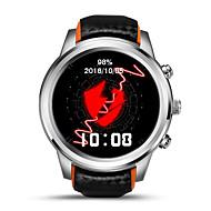 lemfo lm5 multifunksjons smart armbånd / smartur / bluetooth 4.0 mtk6580 / sim / gps / støtte sim TF kort pulsklokke klokke