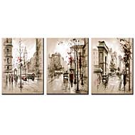Impresiones en Lienzo Estirado Famoso Paisajes Abstractos Modern Realismo,Tres Paneles Lienzos Horizontal lámina Decoración de pared For