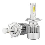 h4 36W / 2 kpl 3600lm tähkä johtanut lamppu johti valkoinen 360 hi / lähivalot moottoripyörä ajovalojen 6500K