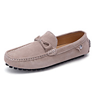 férfi hajó cipő tavaszi-nyári komfort könnyű talp disznóbőr kültéri iroda&karrier alkalmi séta