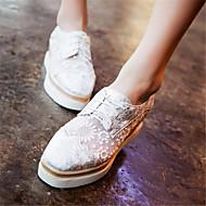 Damen-Flache Schuhe-Lässig-PU-Flacher Absatz-Komfort-