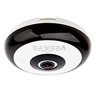 veskys® 360 gradi HD telecamera di sicurezza a piena vista di rete IP WiFi 1.3MP fisheye