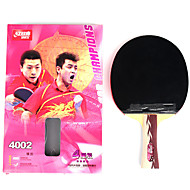 4 Sterne Ping Pang/Tischtennis-Schläger Ping Pang Holz Langer Griff Pickel