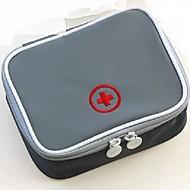 Gyógyszeres doboz/tok utazáshoz Hordozható Tárolási készlet mert Hordozható Tárolási készlet Sárga Piros Zöld Kék Rózsaszín