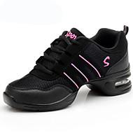 Düşük Topuk-Kumaş-Dans Sneakerları-Kadın-Kişiselletirilmemiş