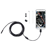 2 in 1 2M 5.5mm 6LEDs Soft Cable Android Endoscope Waterproof Inspection Camera Micro USB Video Camera