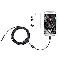 2 i 1 2m 5,5 mm 6leds myk kabel android endoskop vanntett inspeksjonskamera micro USB videokamera